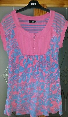 NEXT Pink Maternity Top Size 12