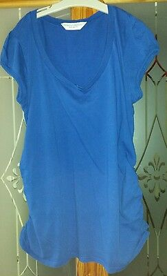 Dorothy Perkins Royal Blue Maternity Top Size 14