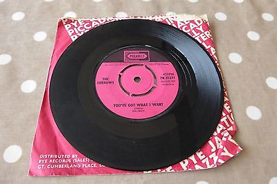 The Sorrows - You've got what I want Beat UK 1st press single Piccadilly Rare