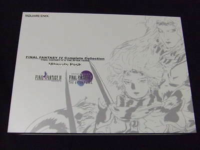 Final Fantasy 4 Complete Collection Ultimate Pack PSP Yoshitaka Amano art