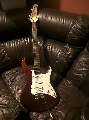 Yamaha Pacifica brand name Electric Guitar in good used condition