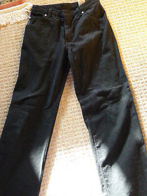 Armani Junior Black Jeans