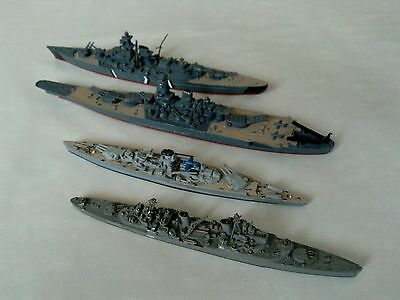 Diecast Warships Possible 2 Triang (M744 Yamato & M742 Bismarck)