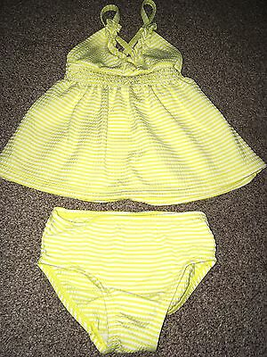 Next Baby Girls 2 Piece Swimsuit Age 3-6 Months BNWOT