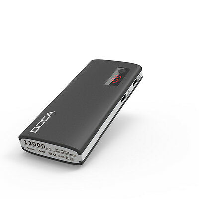 Best Deal - 5 Pcs of 13000 mAh Genuine DOCA D566B External Battery Power Bank