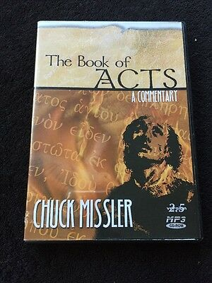 Chuck Missler Bible Commentary The Book of Acts Audio CD Religion