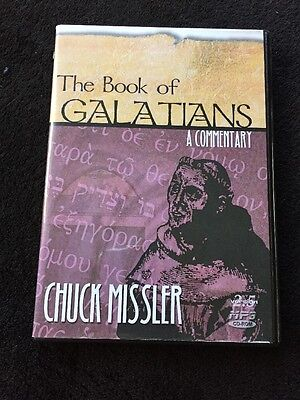 Chuck Missler Bible Commentary The Book of Galatians Audio Cd Religion