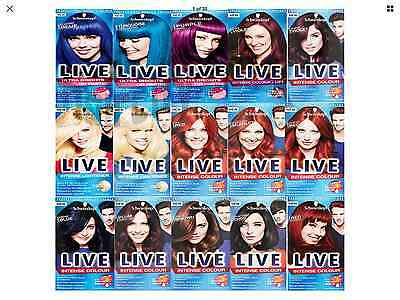 Schwarzkopf Live Hair Color XXL Professional Quality Colour Dye