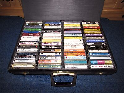 Job lot - A Collection of 60 Assorted Cassette Tapes