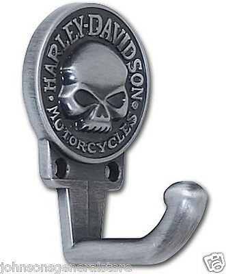 Harley Davidson H-D® Willie G Skull Hook Same Day Shipping