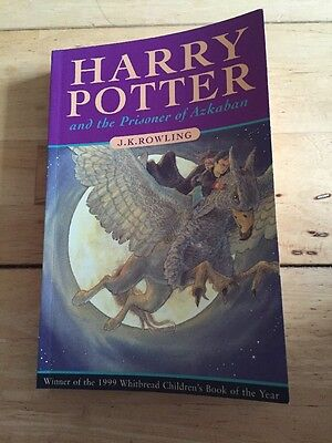 Harry Potter And The Prisoner Of Azkaban First Edition Paperback