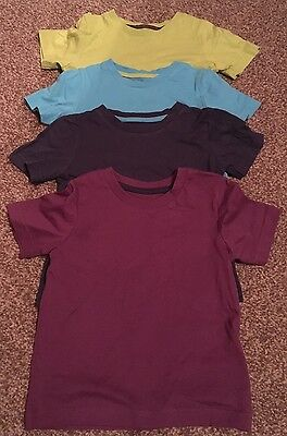 Baby Boys Set Of 4 Tshirt Tops 12-18 Months MOTHERCARE