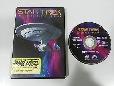 Star Trek La Nueva Generacion Temporada 1 Collector´s Edition Dvd Capitulos 1-4