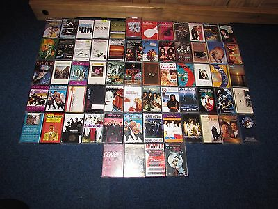 Job lot - A Collection of 65  Assorted  Cassette Tapes