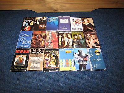 Job lot - A Collection of 19  Cassette Singles