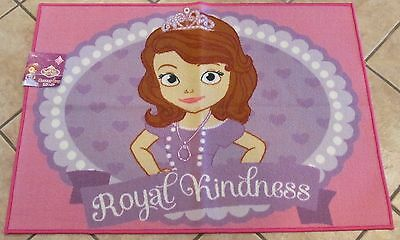 """Disney Sofia the First Accent Rugs, ~ 31 1/2"""" x 44 1/2"""", Purple/Pink/White, NWT"""
