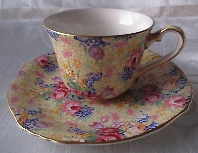 Royal Winton Wellbech Chintz Cup & Saucer