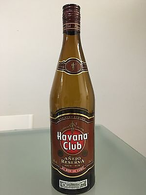 Havana Club Empty Bottle