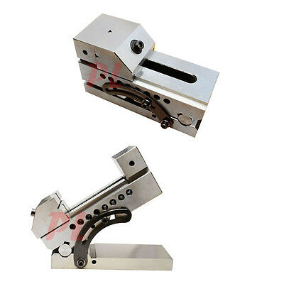 "3'' Precision Sine Vise 4"" Opening Toolmaker Machinist Tookmaking Clamp Vice"