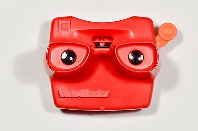 Vintage View-Master / ViewMaster 3D Viewer - Red - Original 1970's