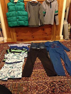 Boy clothes bundle 5-7years