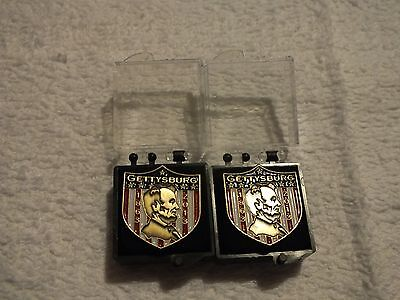 Lincoln Gettysburg Pin Lot of Two Pins 1863-2013
