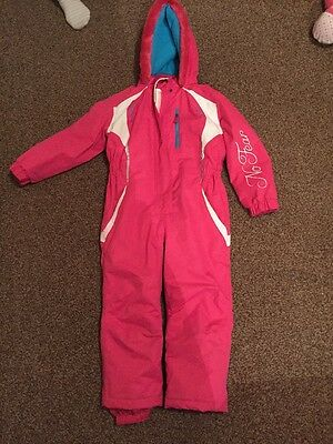 Girl's Snowsuit 4-5 Years No Fear