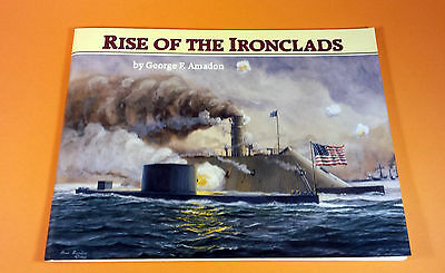 Book: RISE OF THE IRONCLADS ~ Civil War ~ The MERRIMACK & THE MONITOR