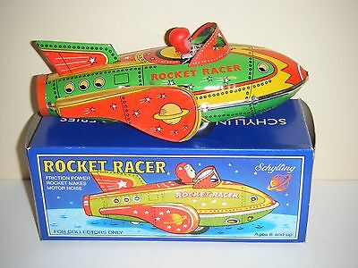 Schylling Collector Series Rocket Racer Tin Friction Car