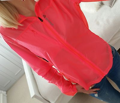 Women's Reebok Running Training Track Hoodie UK Size 8-10