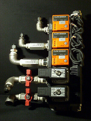 NEW! All Stainless Regal Joint Flow Monitor Control Manifold FS-10 FS-30 SMC VXZ