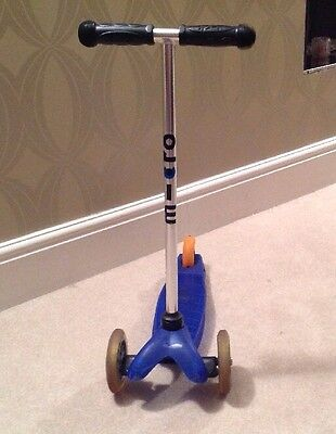 Mini Micro Scooter Blue - Collection Only