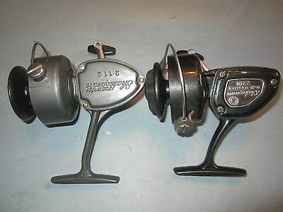 Shakespeare Open Face Spinning Reels - No. 2112 and No. 2210