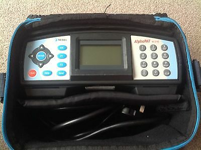 Metrel AlphaPat M2142 PAT tester. Used but in excellent Clean condition