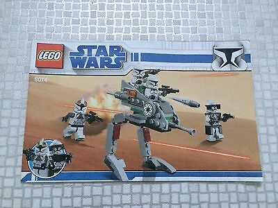 LEGO STAR WARS Instructions Only - 8014 - Fab!