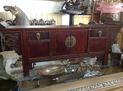 Antique Chinese Tabletop Cabinet