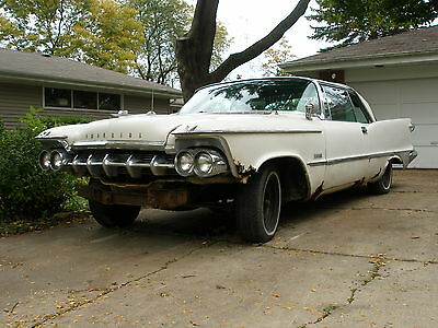 1959 Chrysler Imperial Custom Rare 1959 Imperial Custom Coupe  Project