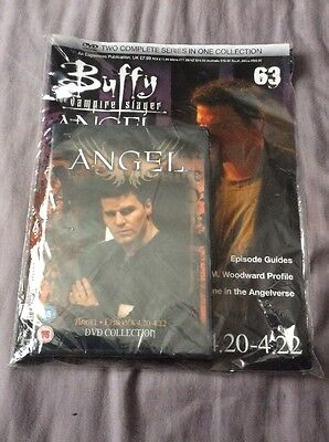 Buffy The Vampire Slayer Angel Magazine 63 Incl Episodes 4.20-22 DVD