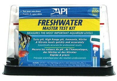 Aquarium Pharmaceuticals API Freshwater Master Test Kit