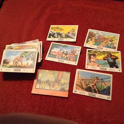 ANGLO Banner 1966 Tarzan Part Card Set in Very Good condition
