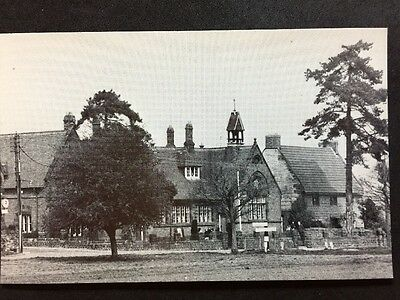 RP Vintage Postcard - Northamptonshire #B6 - The School, Nether Heyford