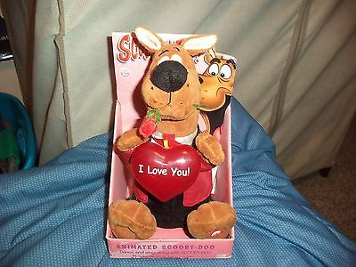 Scooby Doo Valentine Gift Singing Doll Gemmy Why Do Fools Fall in Love Working!