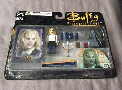 Buffy The Vampire Slayer Darla Palz Figure With Accessories And Card Palisades