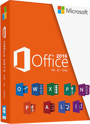 Microsoft Office 2016 Pro Plus Key/clave - Licencia 1 Pc Para Windows