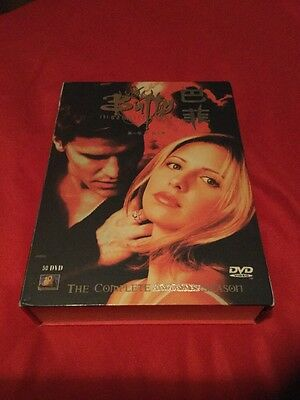 Buffy The Vampire Slayer The Complete 1-7 Season 50 DVDs Asian Edition