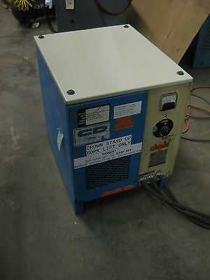 36 VOLT INDUSTRIAL FORKLIFT BATTERY CHARGER -- Single Phase
