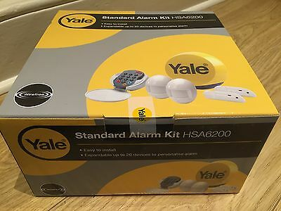 New Yale HSA6200 Wireless Standard Alarm Kit - Expandable Security System BNIB