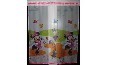 Luxury Disney Minnie Mouse and Daisy Voile Net Curtain
