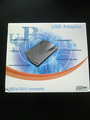 USB TO RJ11 Converter *BRAND NEW -RETAIL BOXED*