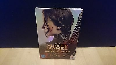 The hunger games complete 4-Film dvd Collection